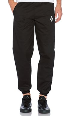 Marcelo Burlon Cardiel Pant in Black White
