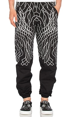 Marcelo Burlon Tarija Pants in Black