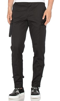 Marcelo Burlon Salto Pant in Black