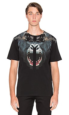 Marcelo Burlon Moreno Tee in Black Blue