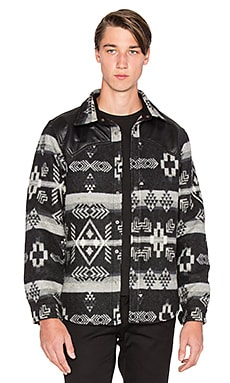 Marcelo Burlon x Pendleton Button Up in Black & Grey