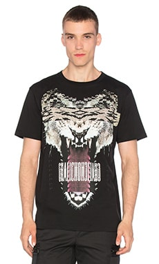Marcelo Burlon Guisa Tee in Black