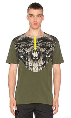 Cumanayagua Tee in Military Green