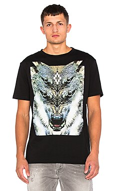 Marcelo Burlon El Marmolejo Tee in Black Multi