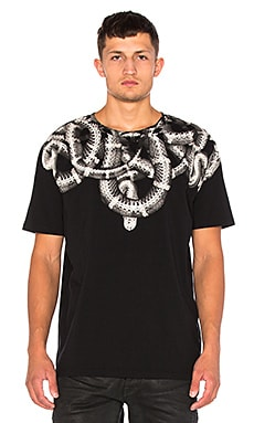 Marcelo Burlon Aconcagua Tee in Black & White