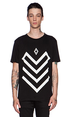 Marcelo Burlon Piotr Tee in Black