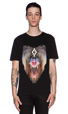 Marcelo Burlon Samir Tee in Black