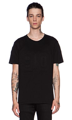 Marcelo Burlon 90 3D Tee in Black