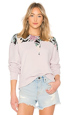Flower Wings Crewneck Pullover