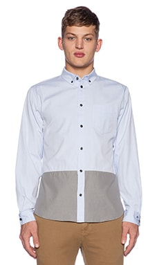 Marc by Marc Jacobs Oxford Button Down in Light Blue Multi