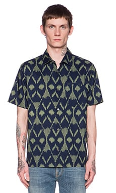 Marc by Marc Jacobs Playa Printed Button Down in Green Oasis Multi