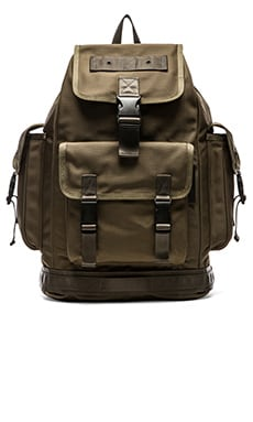 Marc by Marc Jacobs Walter Backpack Green in Vibrant Olive