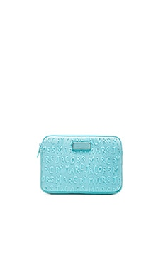 Marc by Marc Jacobs Adults Suck Mini Tablet Case in Sea Aqua
