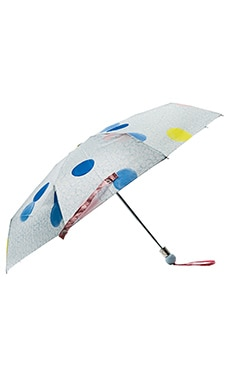 Marc by Marc Jacobs Floating Spot Umbrella in Cloud Blue Multi