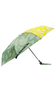Marc by Marc Jacobs Tissue Logo Umbrella in Disco Yellow Multi