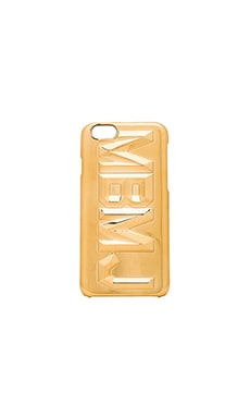 Marc by Marc Jacobs Faceted MBMJ iPhone 6 Case in Gold Multi