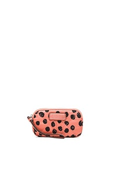 Marc by Marc Jacobs Crosby Nylon Deelite Dot Universal Case in Spring Peach Multi