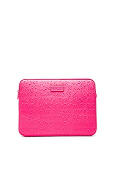 Marc by Marc Jacobs Adults Suck Neoprene 13' Computer Case in Pink
