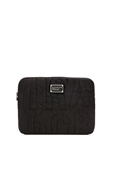 Marc by Marc Jacobs Pretty Nylon 13' Computer Case in Black