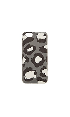 Marc by Marc Jacobs Poker Face Leopard iPhone 6 Case in Gunmetal Multi