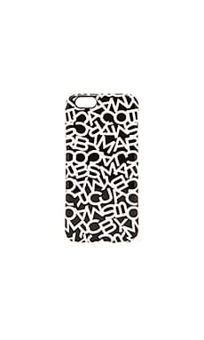 Marc by Marc Jacobs Scrambled Logo iPhone 6 Case in Black