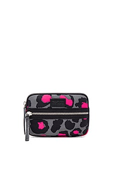 Marc by Marc Jacobs Domo Arigato Printed Leopard Mini Tablet Case in Raspberry Sorbet Multi