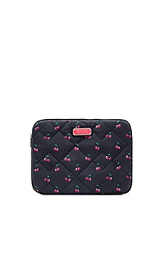 Marc by Marc Jacobs Crosby Quilt Nylon Fruit Tablet Case in Cherry Print