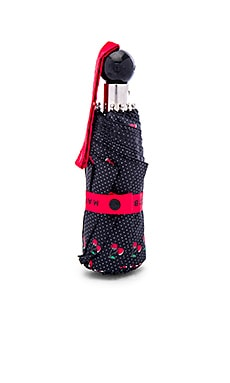 Marc by Marc Jacobs Double Cherry Umbrella in Black Multi