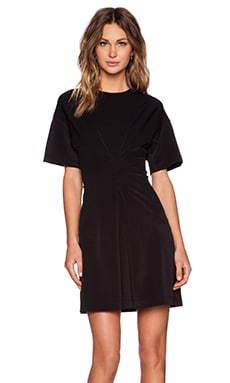 Marc by Marc Jacobs Pique Rayon Dress in Black