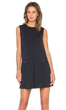 Marc by Marc Jacobs Jersey Twill Dress in Black