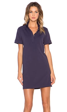 Marc by Marc Jacobs Jersey Twill Dress in Dark Ocean