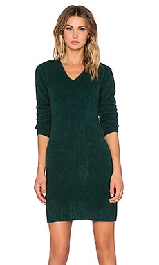 Marc by Marc Jacobs Superyak Sweater Dress in Kelp Green
