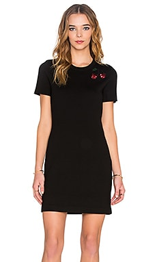 Marc by Marc Jacobs Embroidered Fruits Dress in Black Multi