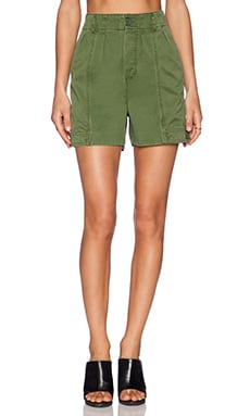 Marc by Marc Jacobs Classic Cotton Shorts in New Fatigue Green