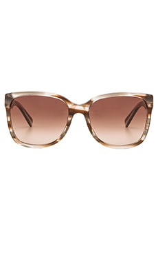 Marc by Marc Jacobs Sunglasses in Striped Brown & Brown Gradient