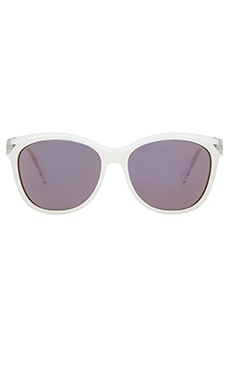 Marc by Marc Jacobs Sunglasses in Crystal White & Green Photocro