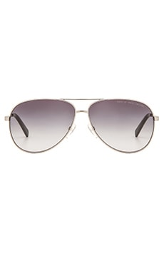 Marc by Marc Jacobs Sunglasses in Ruthenium & Gray Gradient