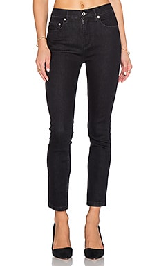 Marc by Marc Jacobs Ella Skinny Crop Jean in Raven Black