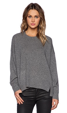 Marc by Marc Jacobs Jo Sweater in Gunmetal Melange Multi