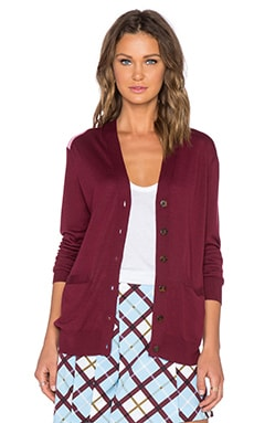 Marc by Marc Jacobs Superfine Sweater in Misty Merlot Multi
