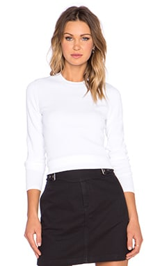 Marc by Marc Jacobs Moving Ribs Sweater in White