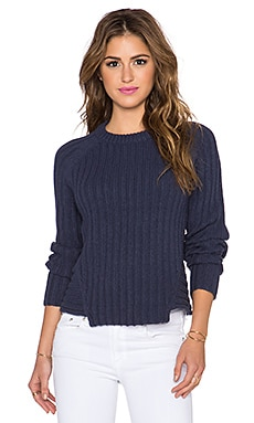 Marc by Marc Jacobs Cotton Wool Sweater in Dark Ocean