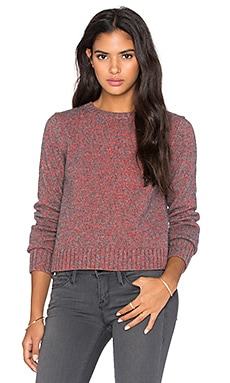 Marc by Marc Jacobs Tie Back Sweater in Ruby Red Multi