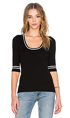 Marc by Marc Jacobs Rib Sweater in Black Multi