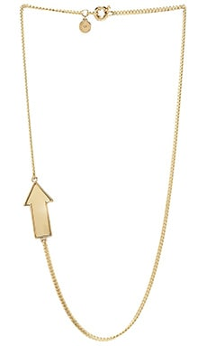 Marc by Marc Jacobs All Stars Large Arrow Necklace in Yellow Jacket