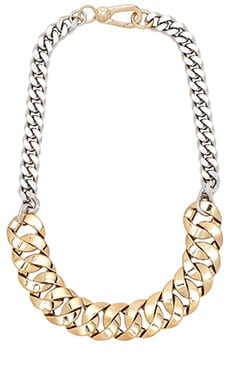 Marc by Marc Jacobs Mixed Up Link Katie Choker in Oro Multi