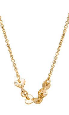 Marc by Marc Jacobs Hole Hearted Necklace in Oro