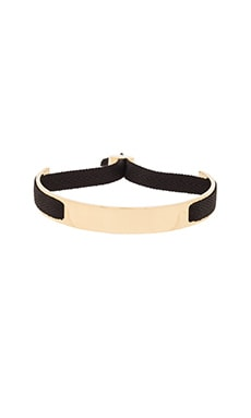 Marc by Marc Jacobs Ribbon Friendship Bracelet in Black