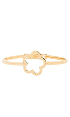 Marc by Marc Jacobs Daisy Window Hinge Bracelet in Crystal & Oro