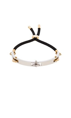 Marc by Marc Jacobs Tambourine Friendship Bracelet in Black Multi